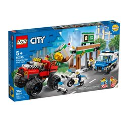 LEGO City - Policía: Atraco Monster Truck 60245