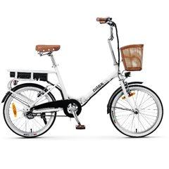 Nilox J1 E-Bike Bicicleta Electrica 25km/h 20'' Plegable 36V