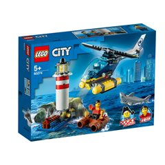 Lego City - Policia de Elite Detencion en el Faro