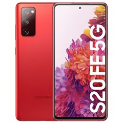 Samsung Galaxy S20 FE 5G 128GB 6GB Rojo Android AMOLED 6.5'' Libre (Outlet)