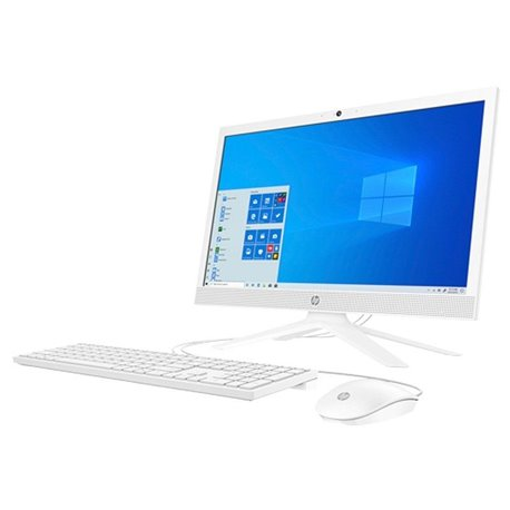 HP AiO 21-B0007NS Intel Celeron J4025 4GB 256GB SSD 21'' Win 10 Blanco