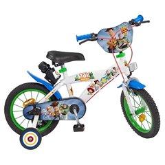 Bicicleta Niños 14'' Toy Story 4 Ruedines 4-6 Años