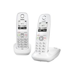 Gigaset AS405 Duo Telefono DECT Blanco (Outlet)