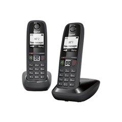 Gigaset AS405 Duo Telefono DECT Negro