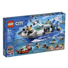 Lego City - Barco Patrulla de Policia - 60277