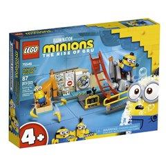 Lego Minions - Minions en el Laboratorio de Gru - 75546