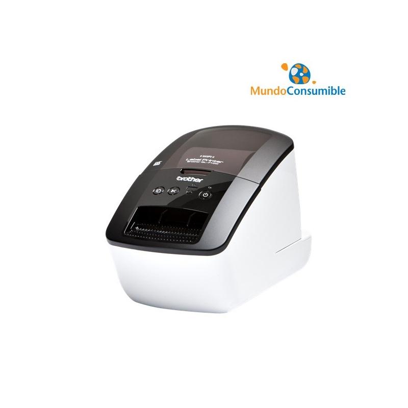 Brother QL710W conexi/ón WiFi Impresora de etiquetas profesional