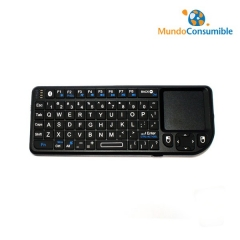 Mini Teclado Wireless + Touchpad + Puntero Laser + Bateria (Ideal Para Pcs, Proyectores, Tv Con Smart Tv...)