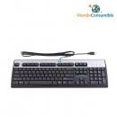 Teclado Standard Negro-Plata Hp PS2