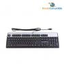 TECLADO STANDARD NEGRO/PLATA HP PS2