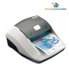 Detector De Billetes Euro Solid Smart Ir - Mg - Hilo - Pc Usb Mini - Actualizable