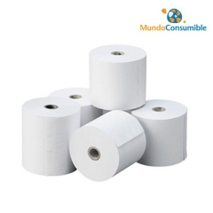 ROLLO DE PAPEL 57X65X12mm. (100 Unidades)