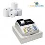 Caja Registradora Olivetti Ecr 7100 Numerica (Registradora + 10 Rollos Papel)