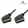 Cable Euroconector Macho-Macho 21Pines 3.00 Metros