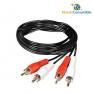 Cable Conexion 2Xrca M-M 20.00 Metros