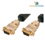 Cable Vga Hdb15M-Hdb15M - 10.00 M. Hq Triple Apantallamiento Dorado (Conector Metal Desmontable) (Ma