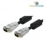 Cable Vga Hdb15M-Hdb15M - 1.80 M. (Conector Metal - Alta Calidad)