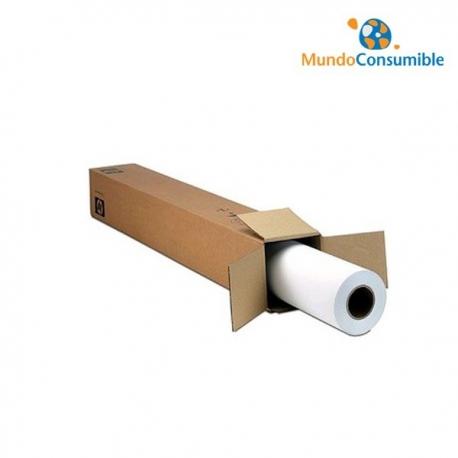 BOBINA HP White Satin Poster Paper - 136 g/m2 - 1067 mm x 61 m