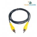 Cable Conexión 1Xrca M-M 1.50 Metros