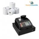 Caja Registradora Olivetti ECR 6800LD Eco + 10 Rollos Papel