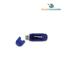PENDRIVE INTEGRAL EVO - 32GB - USB 2.0 - COMPATIBLE PC Y MAC - AZUL