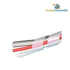 Organizador Cables Espiral Transparente 10m (Diametro 12mm)