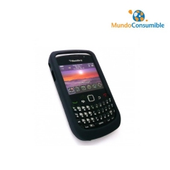 Funda Silicona Blackberry 8520 Negra