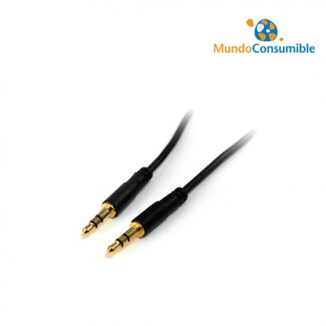 CABLE AUDIO JACK 3.5MM STEREO MACHO / MACHO 3.00MT