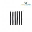 Tiras Sujeta Cables Velcro Negro