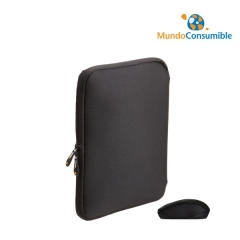 FUNDA PORTATIL / NETBOOK / TABLET 10.1 ACOLCHADO + MINI RATON