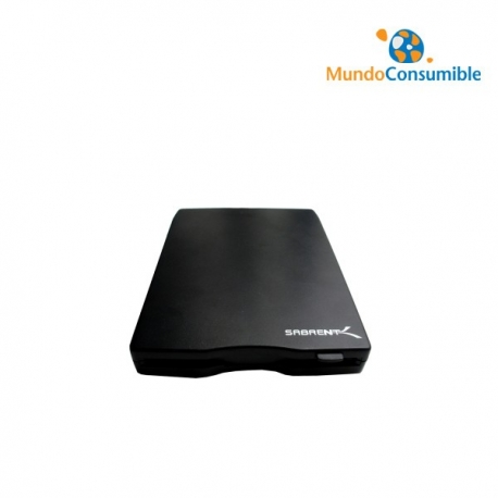 "DISQUETERA 3.5"" 1.44MB USB - NEGRA EXTERNA"