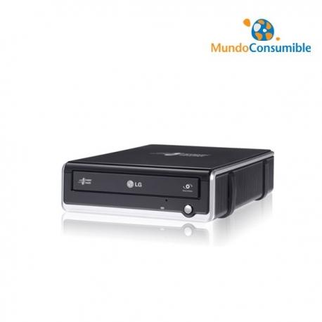 REGRABADORA DVD LG GE20NU10 NEGRA USB LIGHTSCRIBE USB