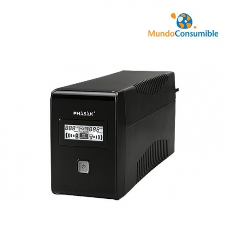 SAI PHASAK 850 VA LCD USB+RJ