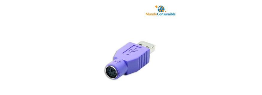 Adaptadores USB - PS2 - Serie