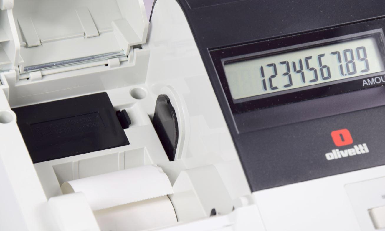 Caja Registradora ECR 7190 Visor